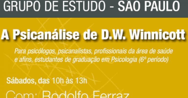 GRUPO DE ESTUDO: A Psicanálise de D.W. Winnicott